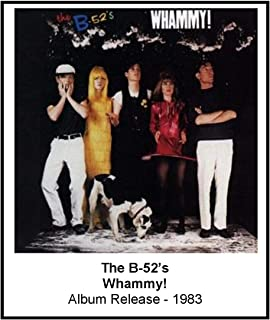 The B-52's 1983 Whammy! Album Cover 3