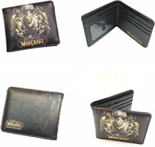 World of Warcraft Lion Crest WOW Bifold Men's Boys Wallet w/Gift Box By Athena
