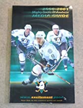 ANAHEIM MIGHTY DUCKS NHL HOCKEY MEDIA GUIDE - 2000 2001 - NEAR MINT