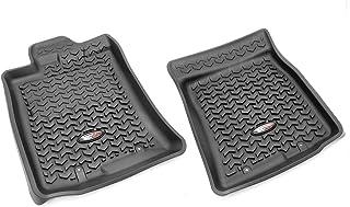 Rugged Ridge 82904.35, All Terrain Floor Liner, Front, Black, 2012-2014 Toyota FJ Cruiser (Automatic)
