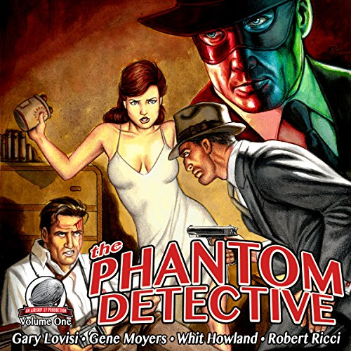 The Phantom Detective, Volume 1 cover art
