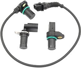 AUTOKAY Intake Exhaust Cam Camshaft Crankshaft Position Sensor set with O-R for BMW