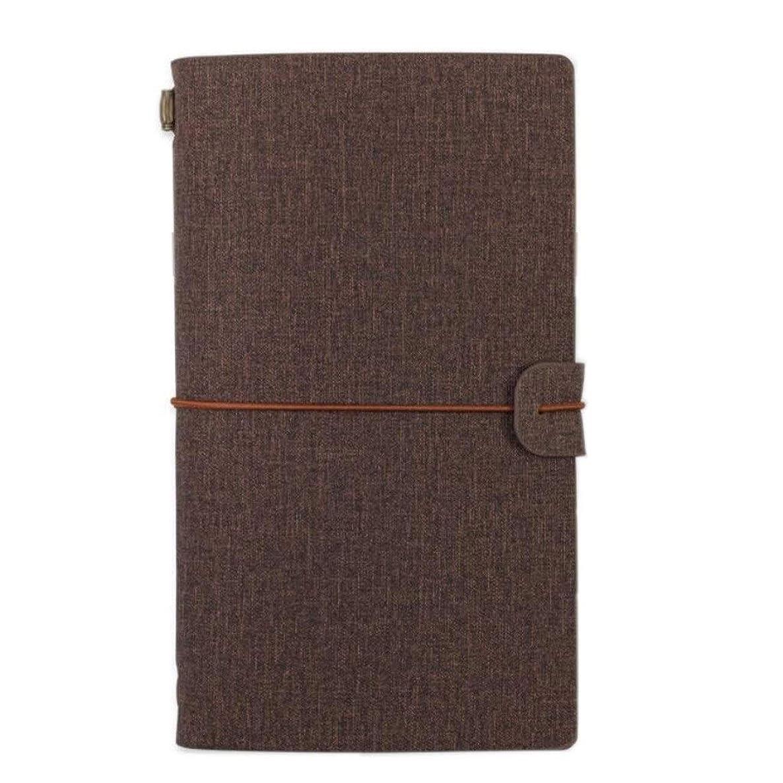 A6ノートブック - ポケットトラベラーズ、ハンドブッククリエイティブトラベルジャーナル、ダイアリーオーガナイザー、2個 (Color : 3)