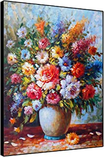 11x14 Colorful flowers in a vase print