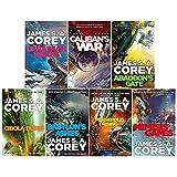 James S. A. Corey Expanse Series 7 Books Collection Set (Leviathan Wakes, Caliban's War, Abaddon's Gate, Cibola Burn, Nemesis Games, Babylon's Ashes & Persepolis Rising)