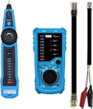 RJ11 RJ45 Cable Tester,YaFex Line Finder Multifunction Wire, Network Cable Tester/Collation for Telephone Line Tester - Continuity Checking