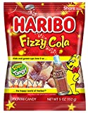 Haribo Gummi Candy, Fizzy Cola, 5 Ounce