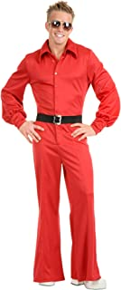 Charades Men's Disco Fever King Costume Jumpsuit