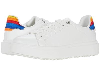 Steve Madden Catcher Sneaker (Rainbow Multi) Women