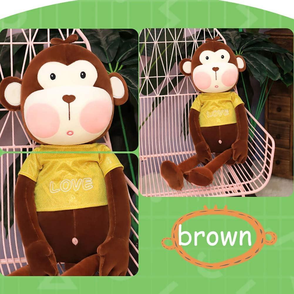 PP katoen pluche speelgoed huggable sidekick - rekbare duurzame gevulde dieren - speelgoed voor kinderen (aap) geweldig cadeau voor meisjes en jongens BRON