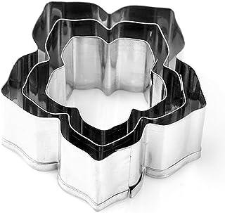 Cortadores de galletas, molde, 3 piezas/set flor cortador de galletas – sello