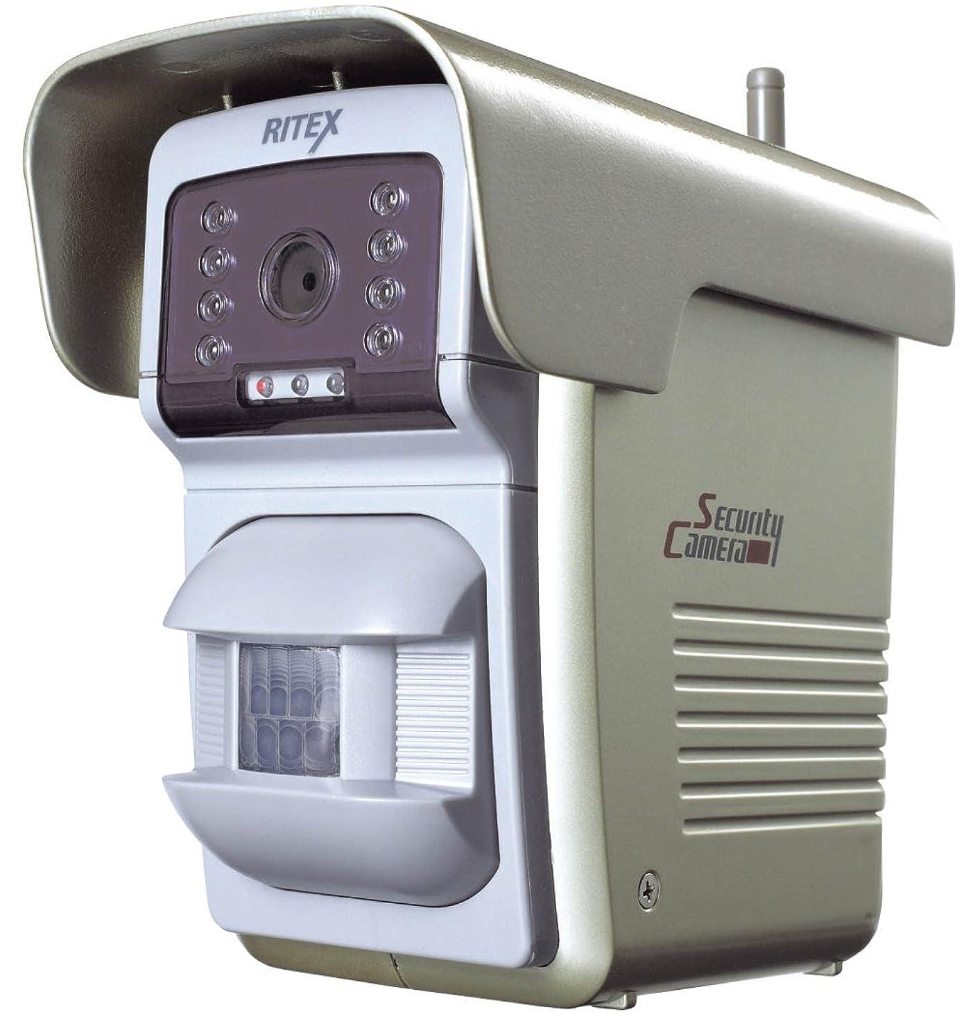サイズ餌愛人ムサシ RITEX センサー自動撮影録画カメラ(400ショット) リモコン付き C-800