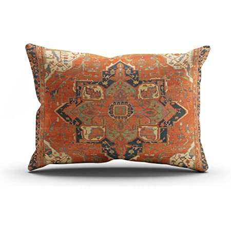 vintage Rug pillow cover,15x15 inc,cushion cover,Rug pillow cover,handmade Rug cushion cover