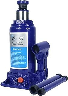 10 Ton Hydraulic Bottle Jack With Safety Valve Blue Car Jack - 10 Ton Capacity/ZBN