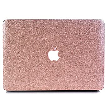 MacBook Air 11.6  Case One Micron Soft-Touch Crystal Smooth Lightweight Macbook Cover for MacBook Air 11 Inch Model A1465/A1370 -Rose Golden