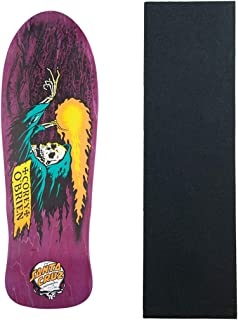 Santa Cruz Skateboards Deck Obrien Reaper Purple Old School Re-Issue + Grip