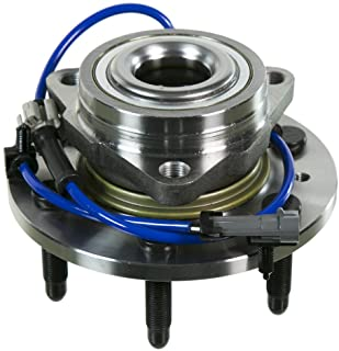 Note: 3 Bolt Mounting Flange - Brake Code 1ZF 2008 For Pontiac Montana SV6 Front Wheel Bearing and Hub Assembly x 2 Stirling