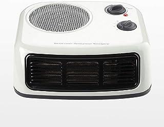 Jiareq1 Calefactor Ventilador Personal Calentador Compactos portátil Fresco Caliente del Espacio del Ventilador Calefactor eléctrico se Adapta Oficina Dormitorio Mesa de Noche Blanca 2000w