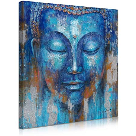 Buddha Picture Colourful Colour Canvas Abstract Art Deco Pictures Wall Pictures D1889