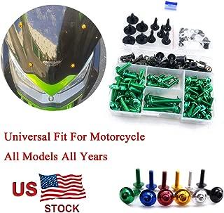 For Kawasaki Ninja ZX10R ZX 10 R ZX 10R 2004 2005 CNC Fairing Bolt Kit Bodywork Screws M5 M6