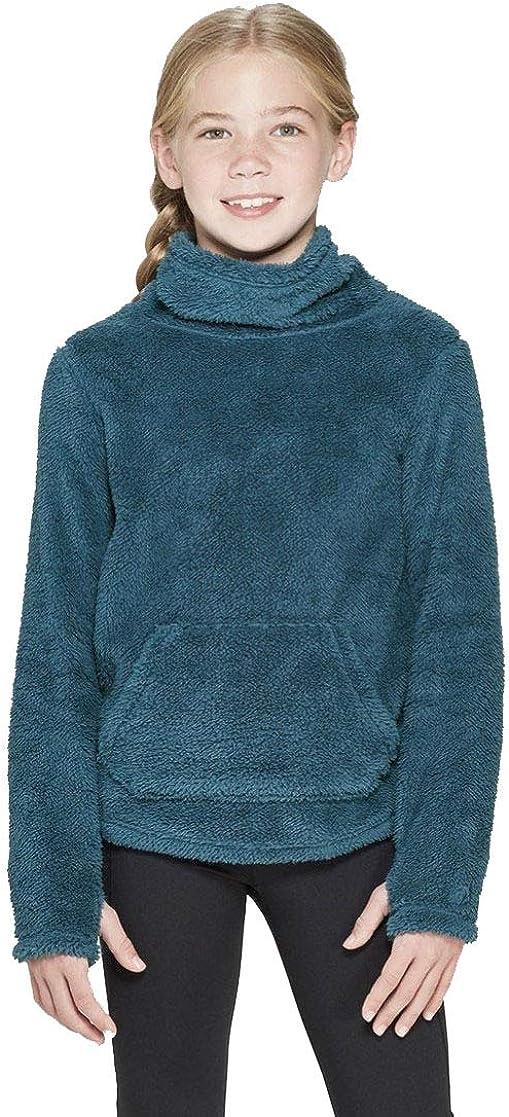 Champion C9 Girls' Fleece Funnel Neck Pullover -