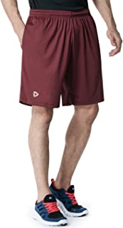 TSLA Men's HyperDri Cool Quick-Dry Active Lightweight Workout Performance Shorts (Pack of 1, 2)