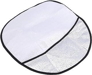 garniture de couverture de bouton de volant de voiture gauche pour 12-17 Yctze 2pcs garniture de bouton de volant