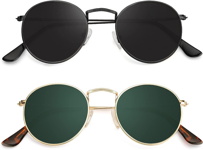Round Max 64% OFF Sunglasses for SALENEW very popular! Women Men Circle Retr Sun Glasses Polarized