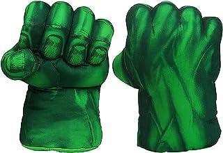 Hearthxy 1 paar handschoenen boksen kinderen grappig bokshandschoenen Big Hulk Smash Hands voor kinderen Cosplay kostuum c...