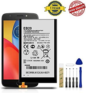 for Motorola Droid Razr XT912/ Motorola Atrix HD MB886 Replacement Battery EB20 Free Adhesive Toolkit