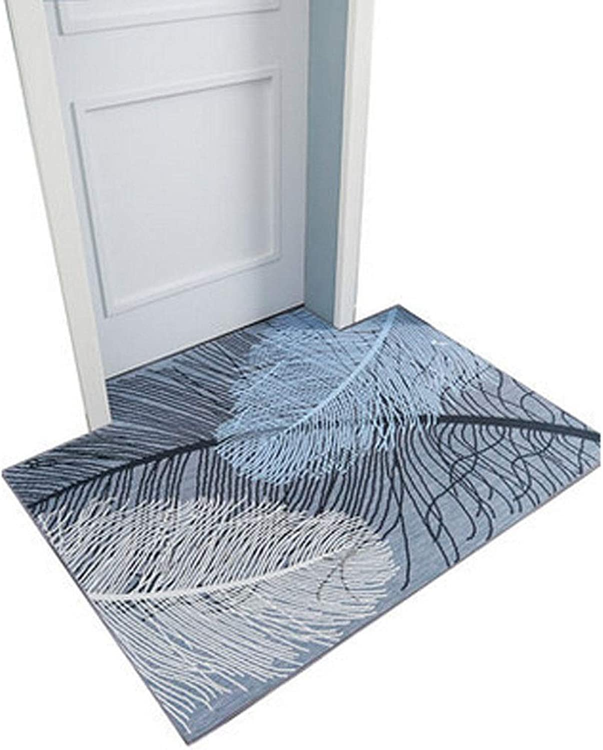 Kaiyitong Doormat,Suitable for Living Room Kitchen Bedroom Bathroom,Waterproof,Washable,Easy Clean,no Mold, no Aging Beautiful (Size   32  40 inch)