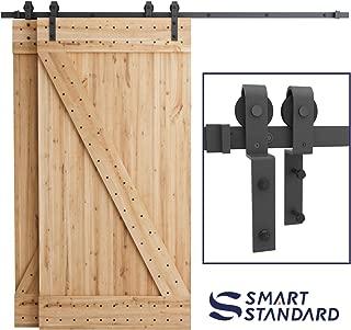 Best 3 door bypass barn door hardware Reviews