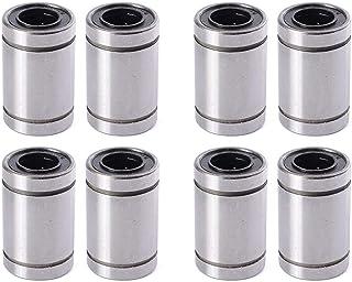 XSENTUALS LM8UU 8 mm Linear Ball Bearing for 3D Printer RepRap Prusa CNC Parts - 8 Pieces