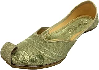 Step n Style Punjabi Jutti Casual Shoes Indian Traditional Shoes Khussa Shoes Mojari