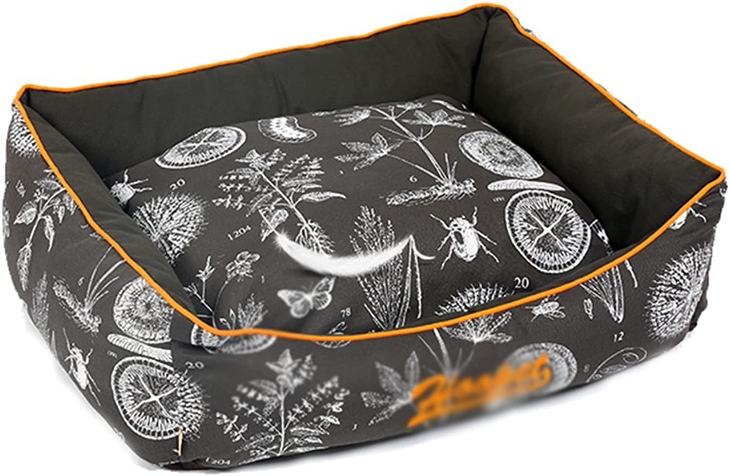 Kennel can be washed and removed four seasons common dog bed PP cotton cave warm ( Size   S )