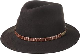 Lierys Cappello a 4 Colori Uomo - Made in Italy - Impermeabile e Ripiegabile - Cappello in Feltro 55-61 cm - Cappello Inve...
