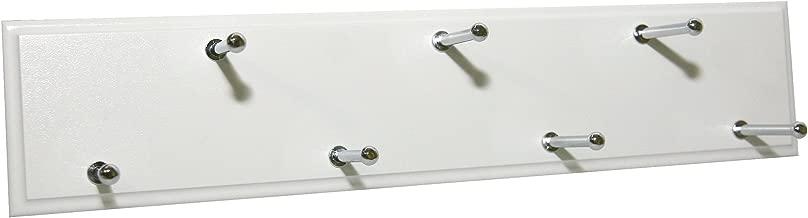 Easy Track Ra1202 Sliding Belt Rack, White