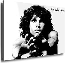 Diseño de the Doors - Jim Morrison imagen 100 x 70 cm decorativo en bastidor/lienzo, fotografía, carteles, diseño Pop Art, arte - decoración imágenes