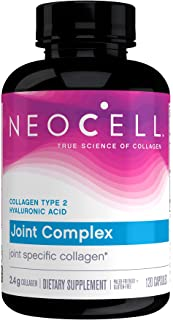 NeoCell Joint Complex, Type 2 Hydrolyzed Collagen Plus Joint & Cartilage Support, 120 Capsules (Package May Vary)
