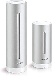NETATMO(ネタトモ) ウェザーステーション USB付属・ACアダプター無し スマホ対応 温度・湿度・気圧・二酸化炭素・騒音を測定 [並行輸入品]