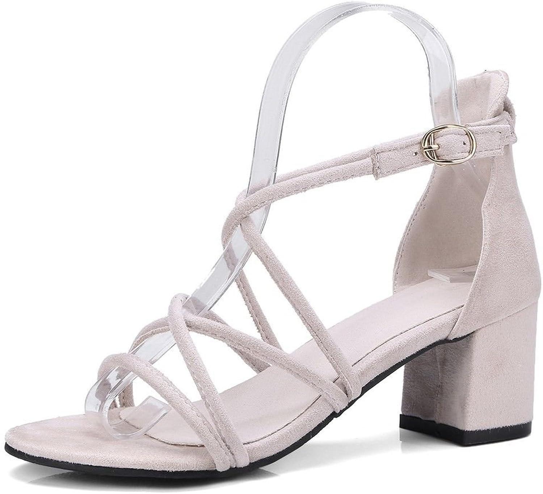 Ms. Summer highHeeled Sandals Minimalist Wedding Buckle Straps Sandals