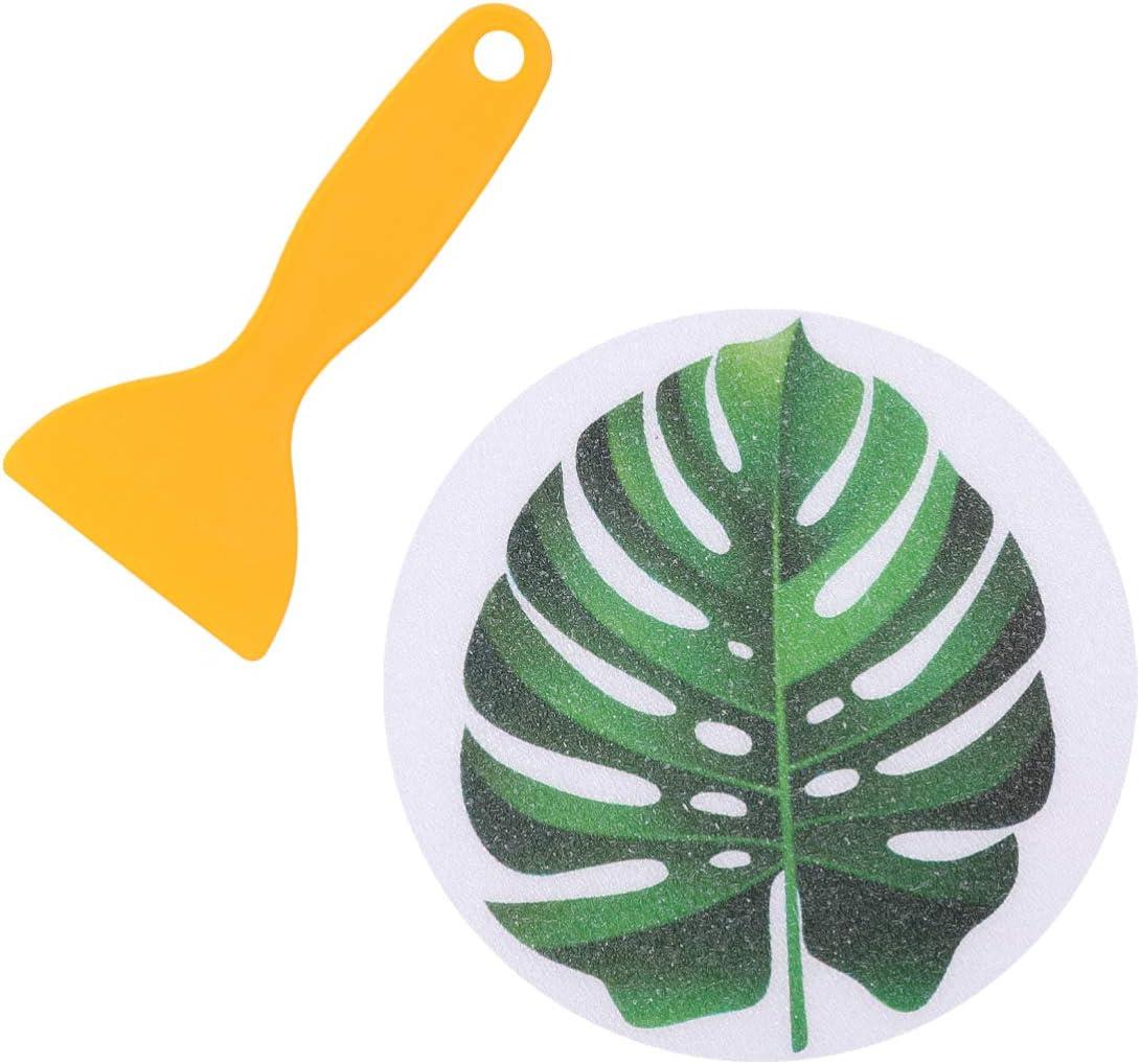 Angoily 8pcs Non Slip specialty shop Bathtub Leaf Stickers Decals Rare Patt Adhesive