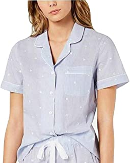 Charter Club Womens Comfy Cozy Pajama Top