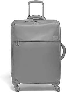 Lipault - Original Plume Spinner 65/24 Luggage - Medium Suitcase Rolling Bag for Women - Pearl Grey