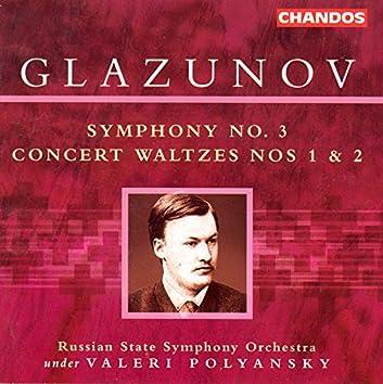 Glazunov: Symphony No. 3 / Concert Waltzes Nos. 1 and 2