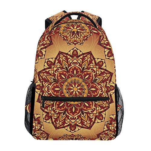 TIZORAX Mochila psicodélica  estilo medieval  hippie  bohemio  de viaje