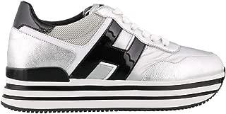 HOGAN Luxury Fashion Womens HXW4830CB80LV00QTY Silver Sneakers | Fall Winter 19