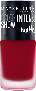 Maybelline New York Color Show Intense Nail Paint, Magnetic Maroon, 6ml