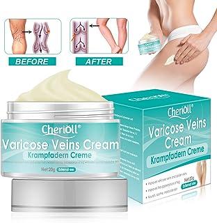 Krampfadern Creme, Varicose Veins, For Phlebitis Angiitis Entzündung Blutgefäß Venen Vaskulitis Behandlung Beine Care Safe Cream, sanften Beinpflege