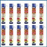 12 flacons de mousse expansive Everbuild Fix&Fill - 750ml